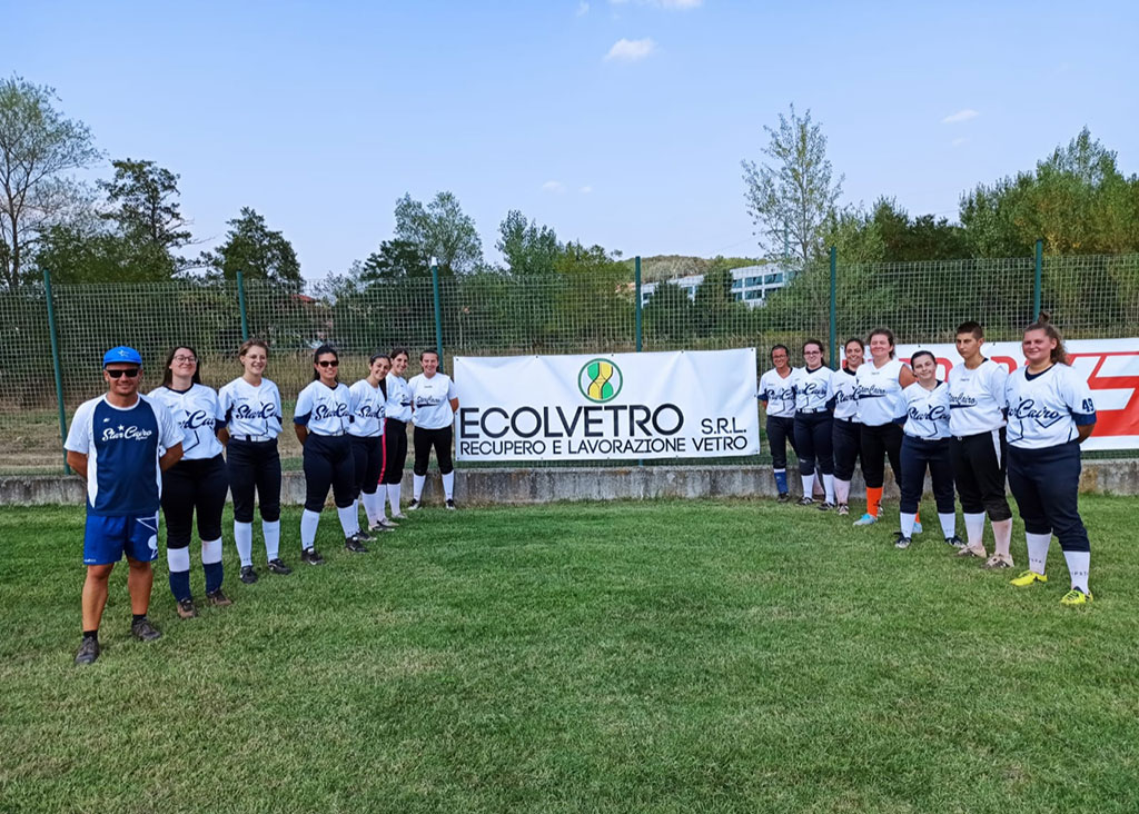 sponsorizzazione della squadra di Softball femminile di Cairo Montenotte (Star Cairo), partecipando nell'anno 2021, al campionato di serie B, girone Ligure-Piemontese
